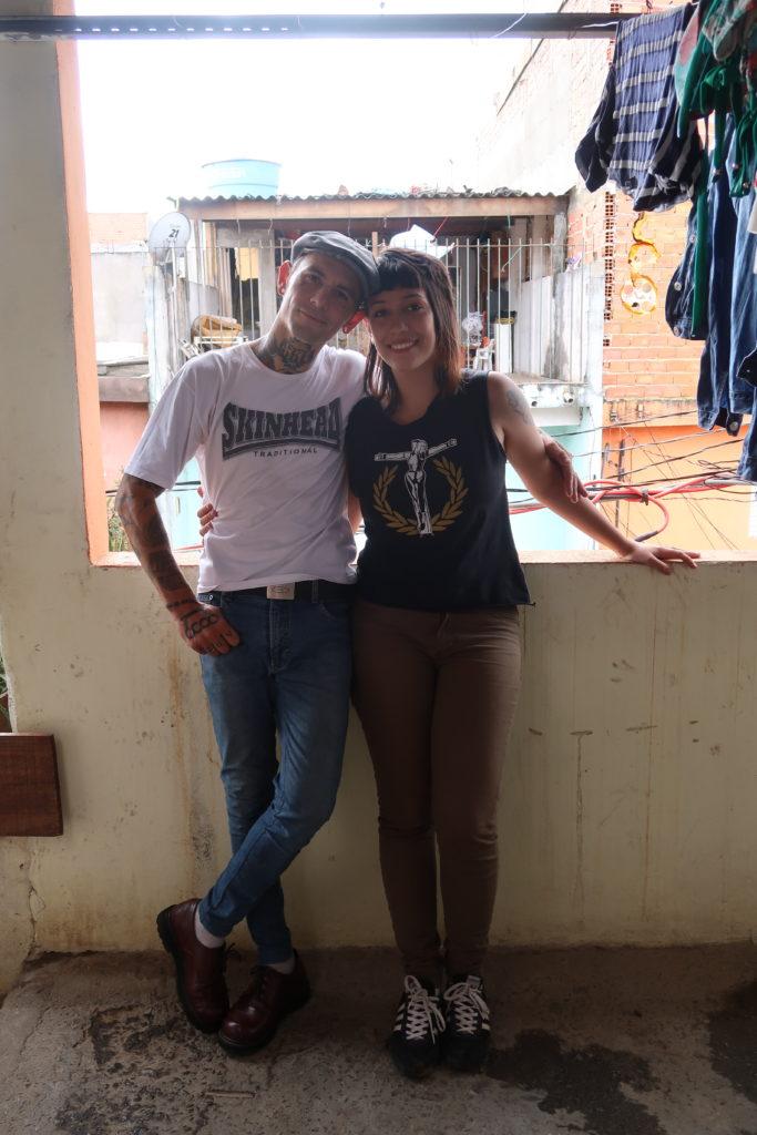 Isabelle Pradel Skinhead Girl, Sao Paulo Brazil banned from Facebook