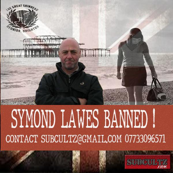 Facebook ban skinheads . Symond Lawes